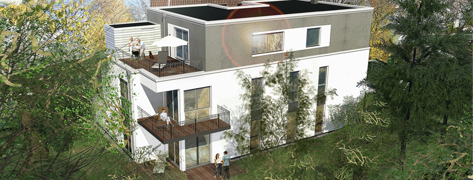 IhL | Immobilien Hanseatische Lebensart GmbH | Nord-West-Perspektive | Langenhorner Chaussee 163a