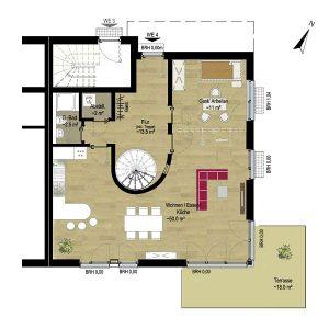 Wohnung 4 EG | Grundriss EG | Gilcherweg 39 | IhL Immobilien hanseatische Lebensart GmbH