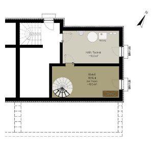 Wohnung 4 EG | Grundriss KG | Gilcherweg 39 | IhL Immobilien hanseatische Lebensart GmbH